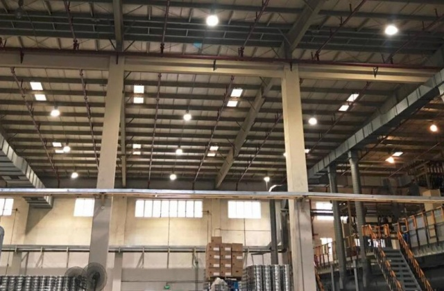 1000PCS 100W防爆灯应用在 海虹老人涂料厂