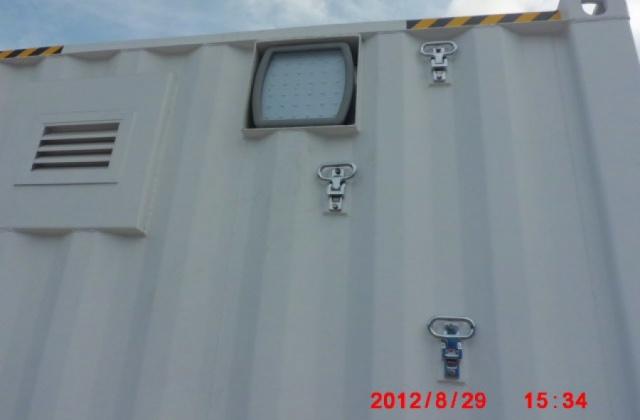 CESP防爆灯应用在北京中石化储油危险区域