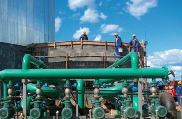 攀长刚搬迁改造水处理安装工程