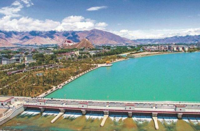 西藏拉萨河重点河道水利改造工程