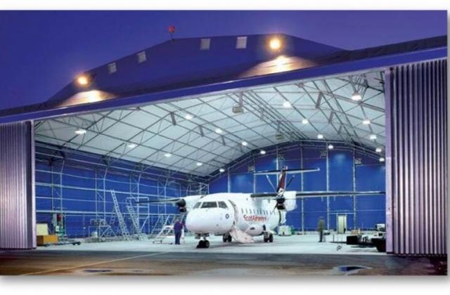美国直升机修理房LED防爆灯具项目