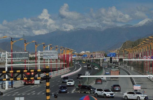西藏拉萨南环西环道路工程